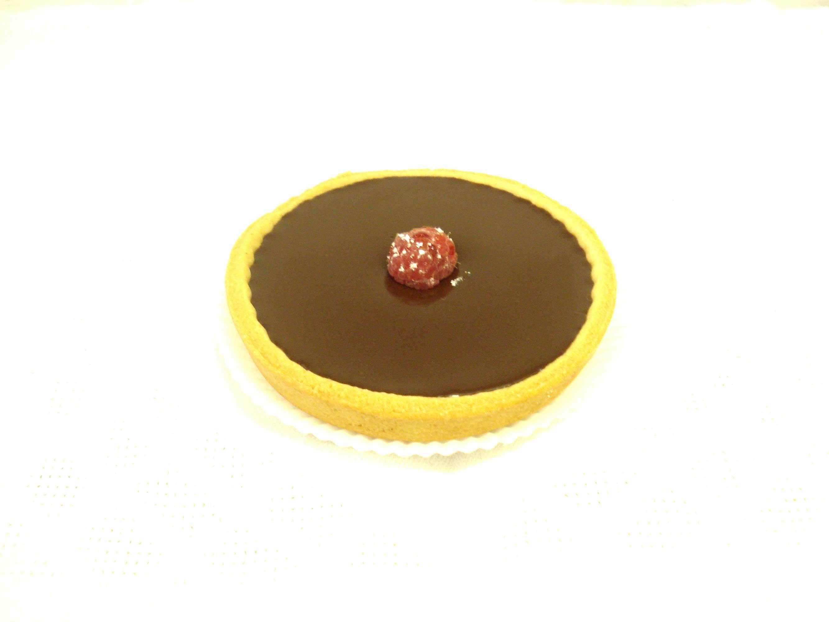 Tarte-au-chocolat-Schokoladentarte