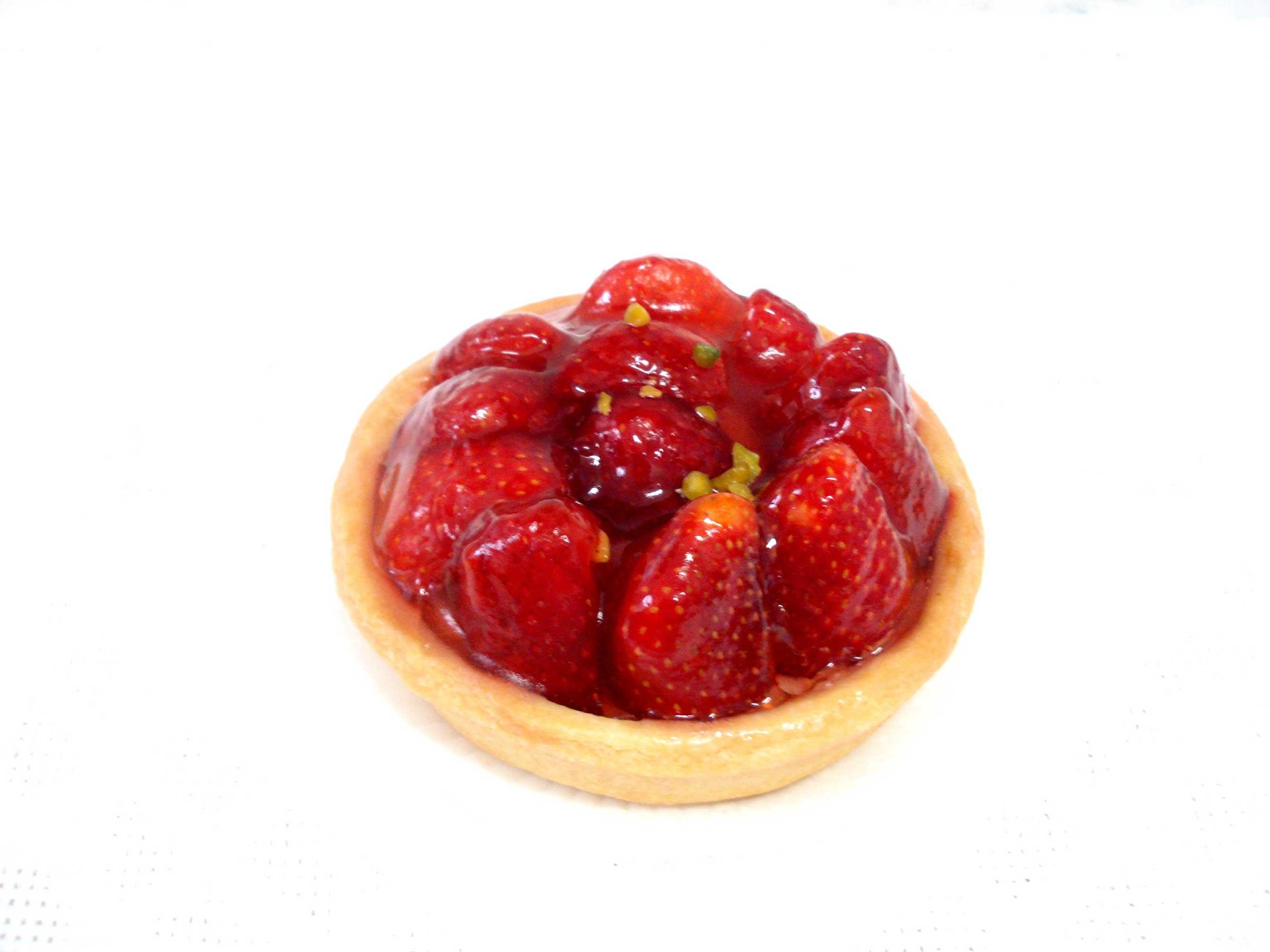 Tarte-aux-fraises-Erdbeertarte